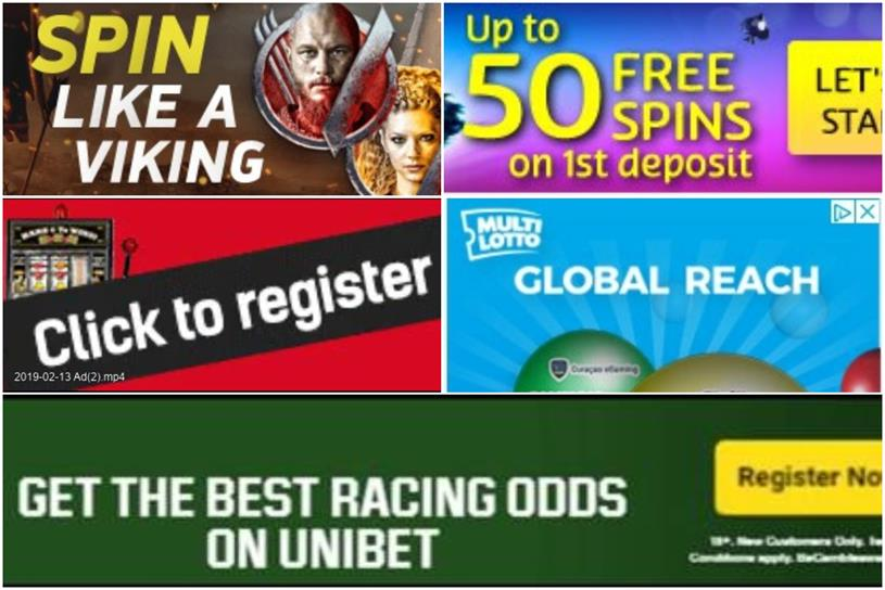 Breached advertising rules: Vikings Video Slot, RedBet, Multilotto UK, Unibet and PlayOjo