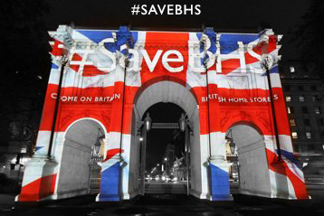 BHS: retailer launched #SaveBHS campaign