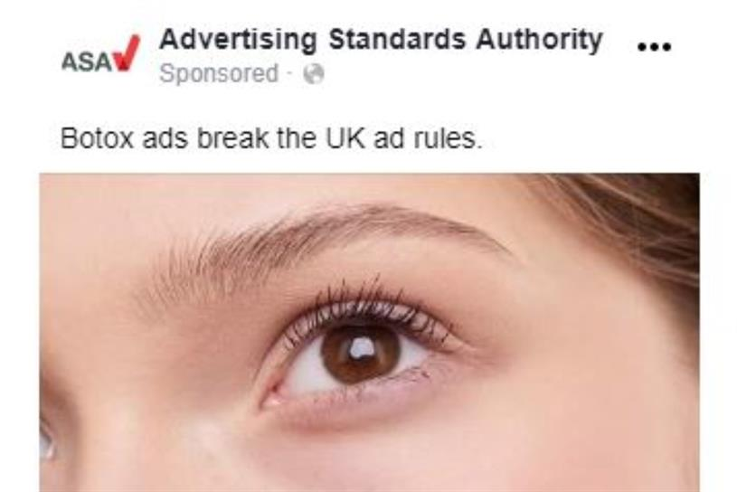 Botox: ASA and CAP launch campaign to raise awareness of ad regulations