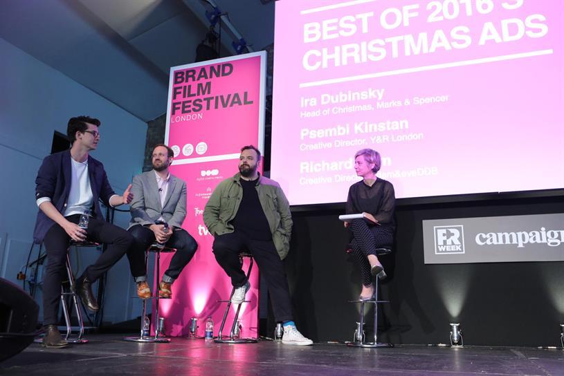 From left: Kinstan, Dubinsky, Brim and moderator Miranda Sawyer