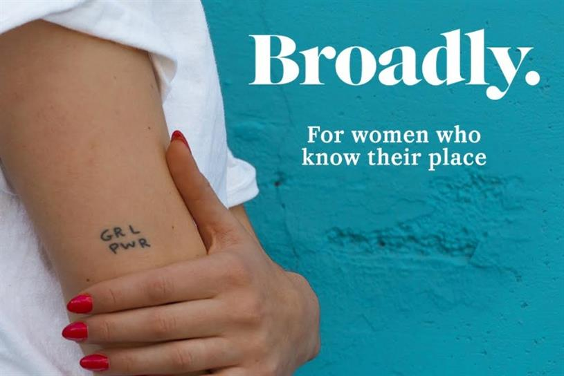 Unilever is sponsoring Vice's upcoming millennial women's channel, Broadly