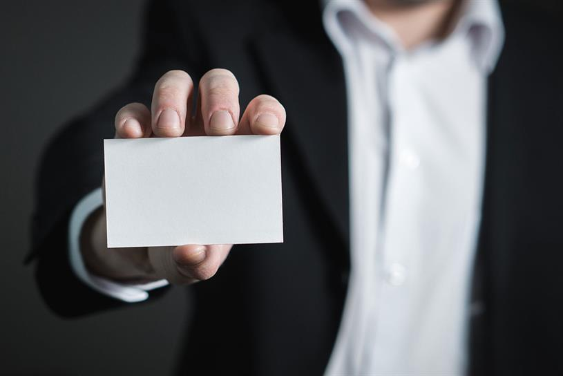 Business card: jobs of the future