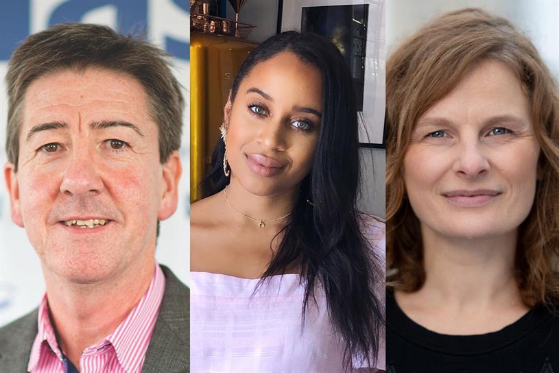 Peter Heath, Fayola Douglas, Helen Hanson