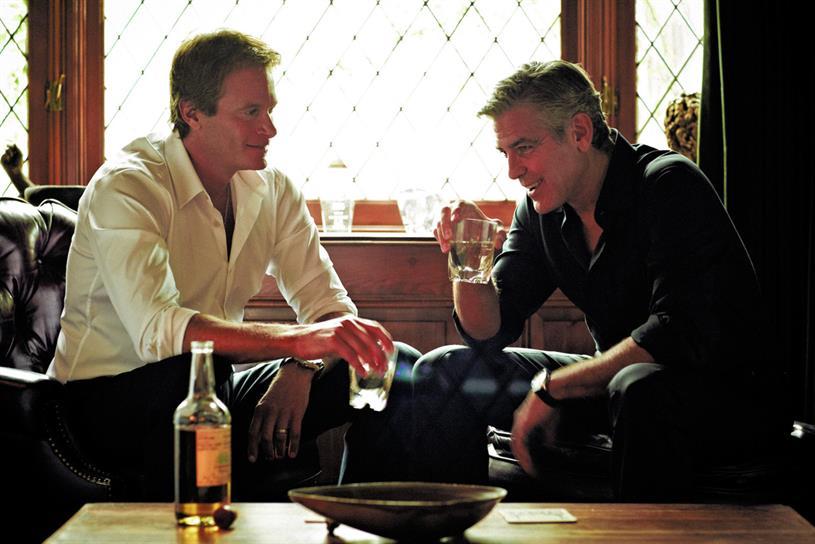 Gerber (left) and Clooney