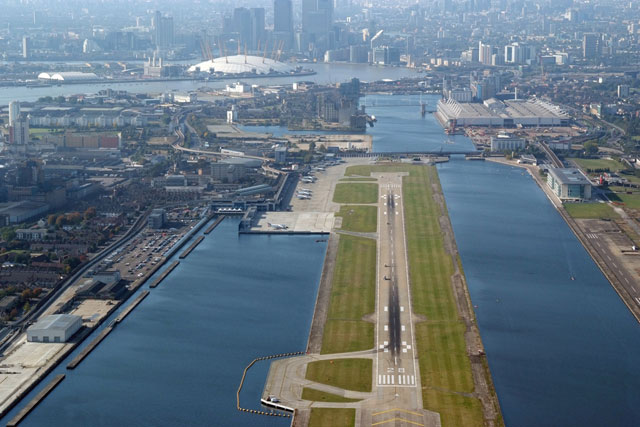 London City Airport: close to landmarks like the O2