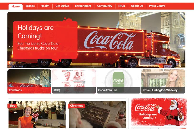 Coca-Cola: seeks agency for digital and social brief