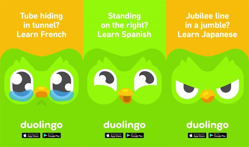 Duolingo: targeting Londoners