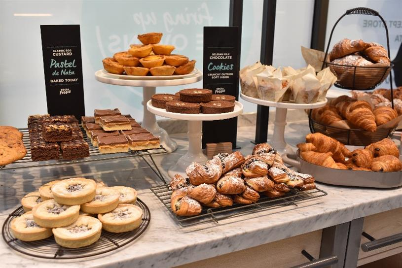 Costa: coffee chain is opening Costa Fresco, a food-focused store