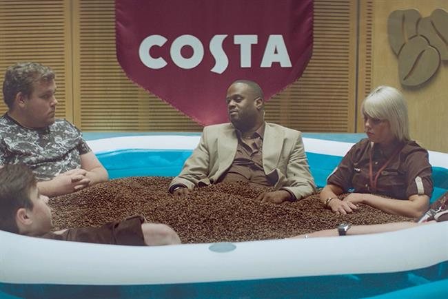 Costa: 101 created the brand's latest ad, 'Never a dull cup'