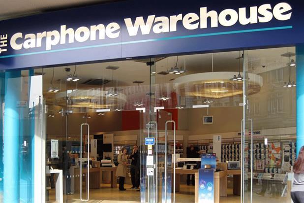 Carphone Warehouse: former Rowbotham client