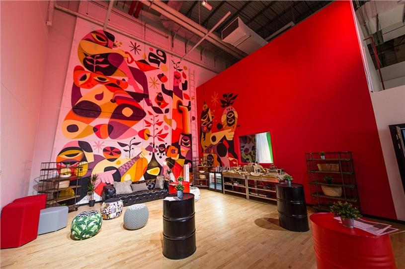 YouTube's 'Creator Lounge' in Dubai