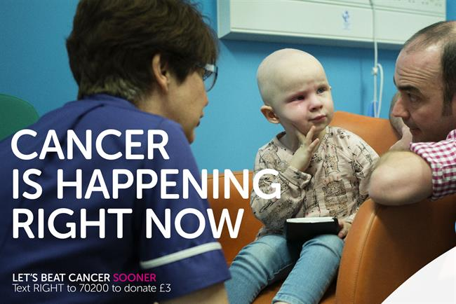 Cancer Research UK: Anomaly picked up the charity's Race for Life account
