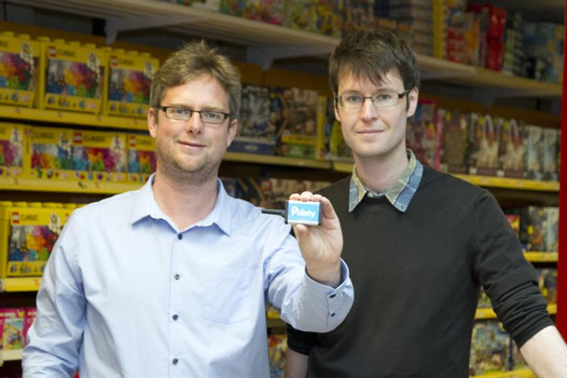 Pointy co-founders, Cummins (left) and Bibby