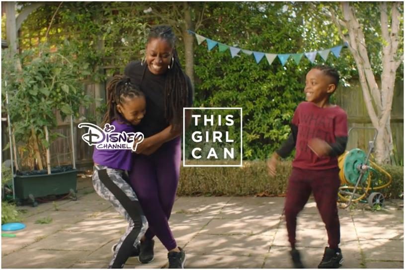 'This girl can': Disney is first brand partner