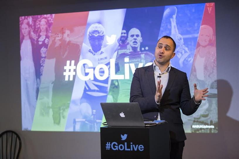 Dara Nasr: UK managing director at Twitter
