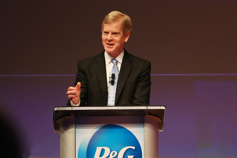 P&G chairman and chief executive David Taylor