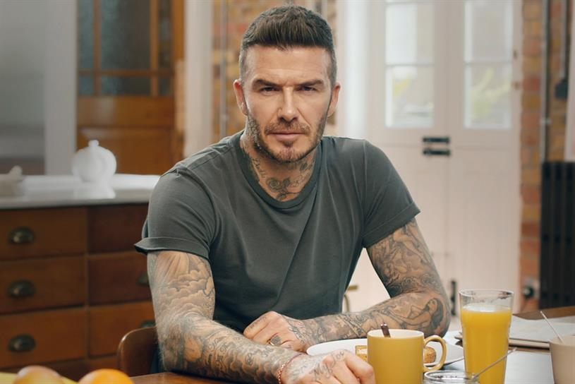 Beckham: appears to speak nine languages