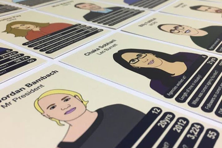 Top Trumps meets Top Creatives