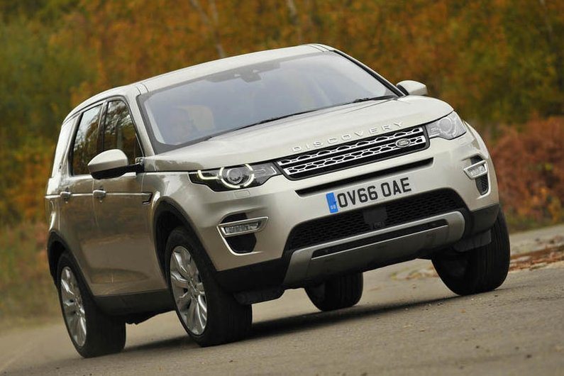 Land Rover Discovery Sport: the Liquid app allows people to have the car delivered to them for rental