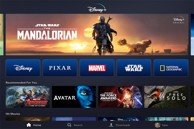 Disney+: launching in UK on Tuesday
