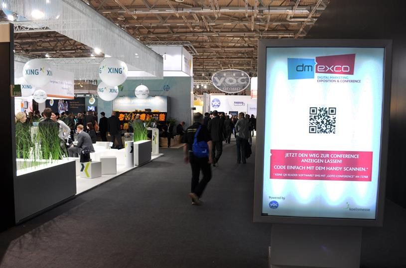 QR codes were everywhere, for one thing