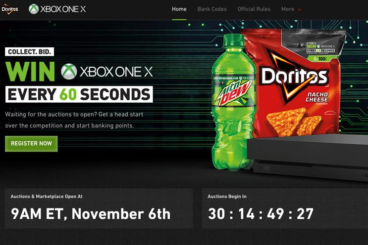 mountain dew doritos and xbox work with joel mchale to launch ar