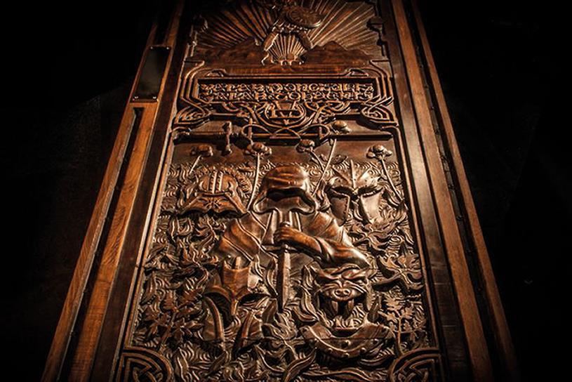 Tourism Ireland's 'Door of thrones', by Publicis London