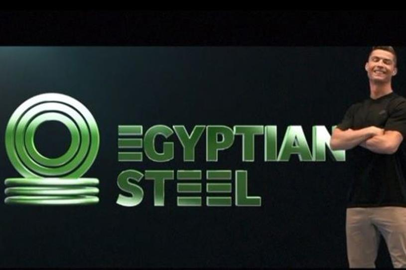Cristiano Ronaldo in paid partnership with Egyptian Steel (credit: @cristiano on Instagram)