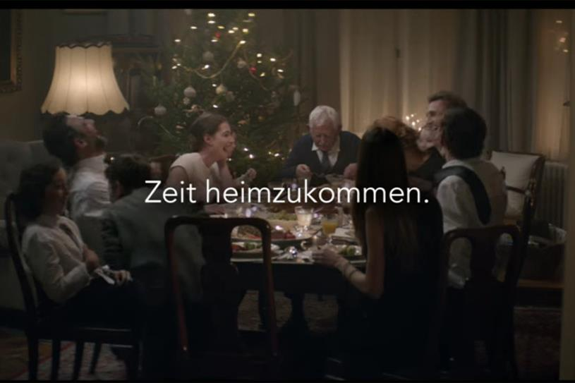 Edeka: its festive ad was the most-shared this week
