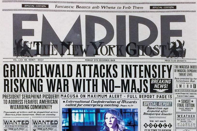 Empire: rolls out limited-edition cover for Fantastic Beasts and Where to Find Them