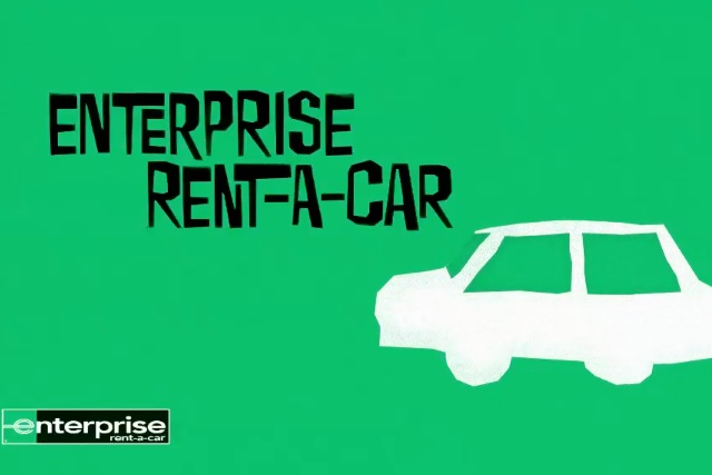 & Spirit of movie legend Saul Bass lives on in Enterprise Rent-A-Car ads