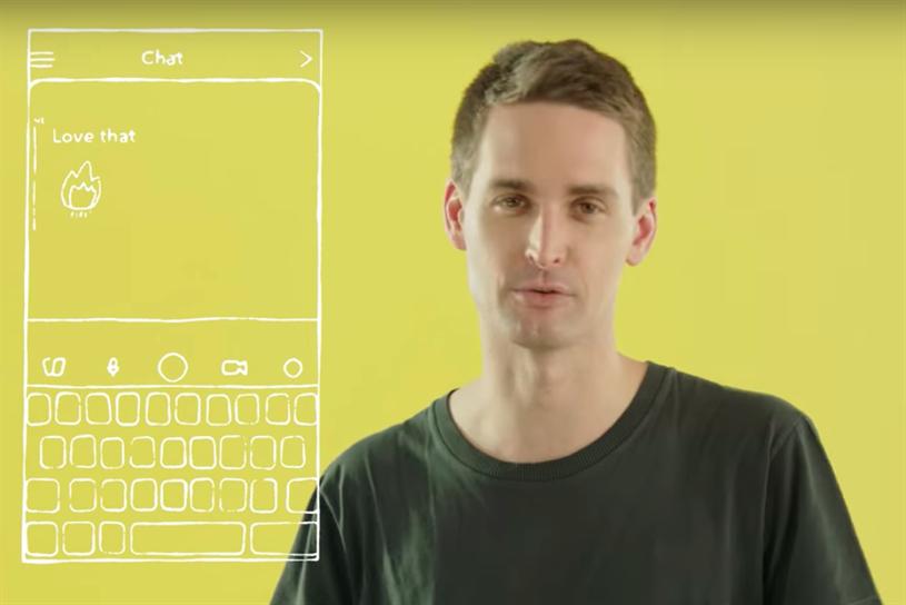 Evan Spiegel explains Snapchat's redesign