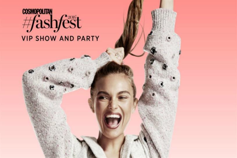 Fashfest: hosted by Cosmopolitan