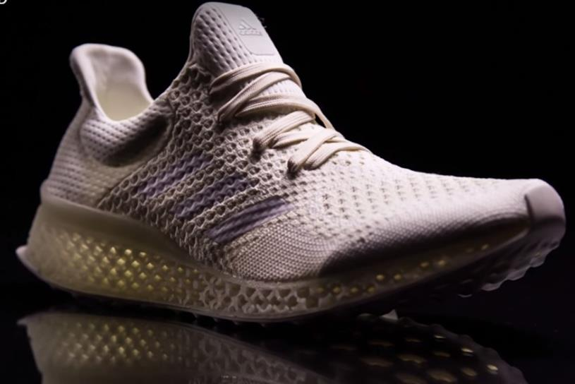 Adidas: dipping a toe into custom, 3D-printed trainers