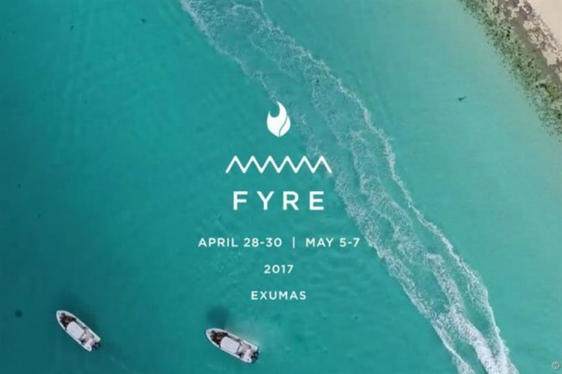 Fyre Festival: A launch campaign in search of a festival