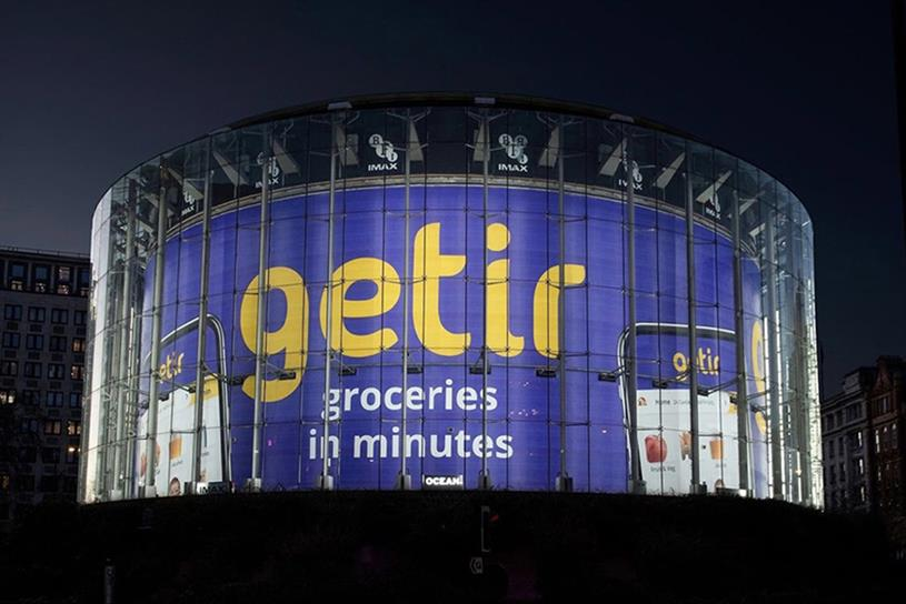 Getir: has been expanding its operations into the UK and Europe