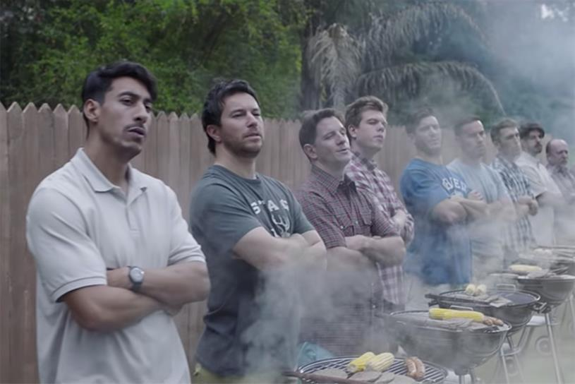 Gillette: took aim at aggressive male behaviour in latest campaign