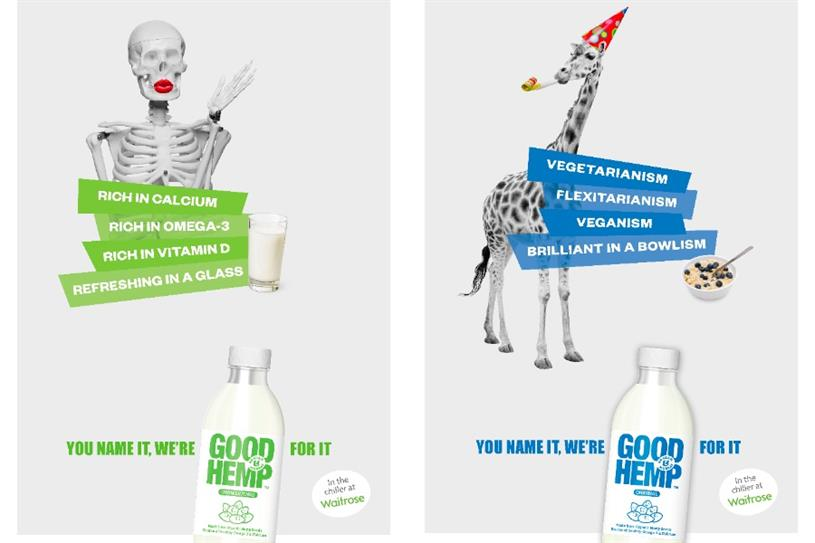 Good Hemp: Snap created campaign