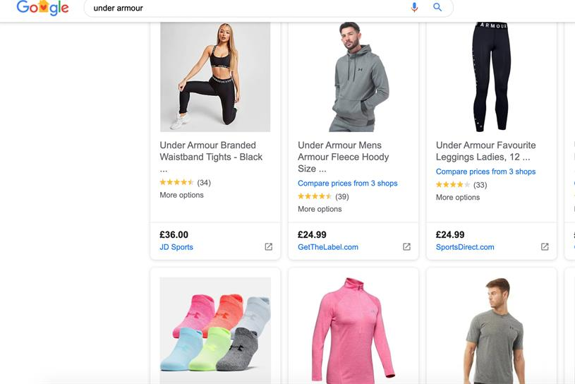 Google Shopping: will phase in free listings, starting with the US market