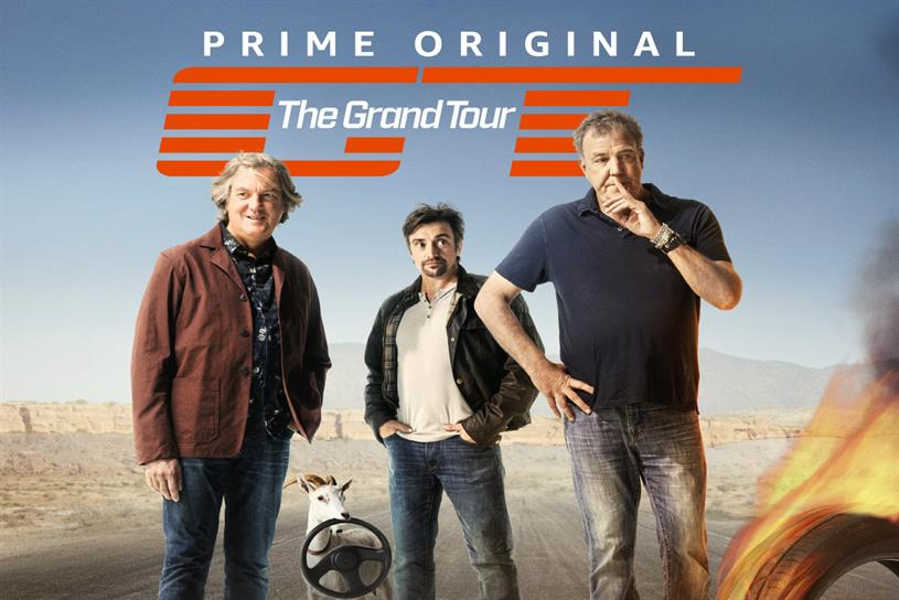 Amazon Prime's The Grand Tour: immersive experience ahead of the Emmy Awards