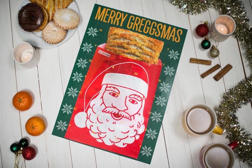 Greggs: Christmas effort