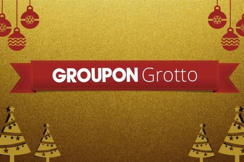 The Groupon grotto will open for one day only