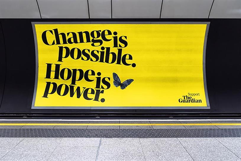 The Guardian: ad campaign by Uncommon Creative Studio