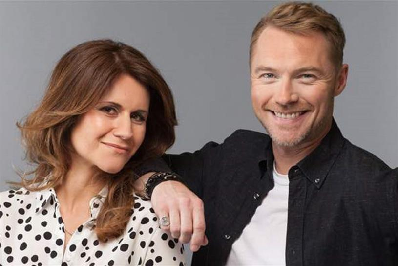 Magic FM: Harriet Scott and Ronan Keating