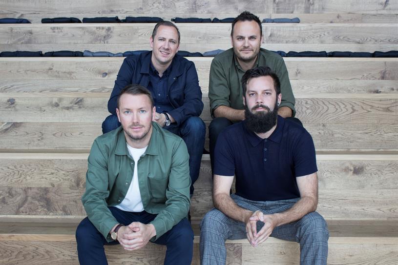 Clockwise from top left: Ben Mooge, Matt Swinburne, Alex Tizard, Jonathan Rands