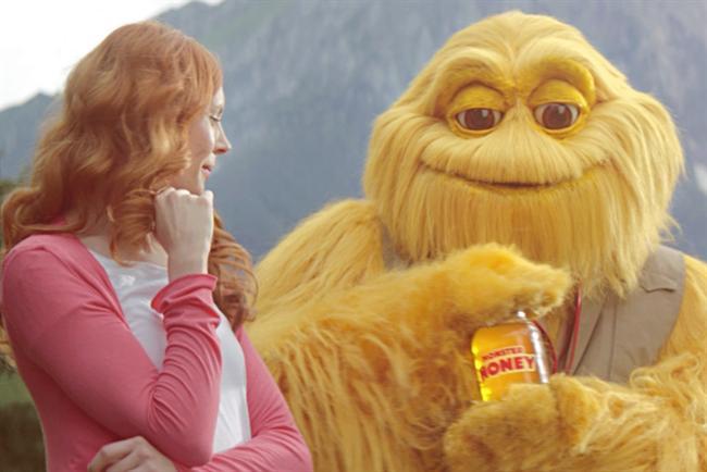 Honey Monster: returns to TV ads