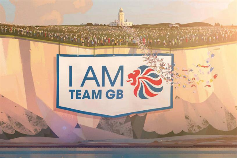The National Lottery: 'I am Team GB' campaign won on social