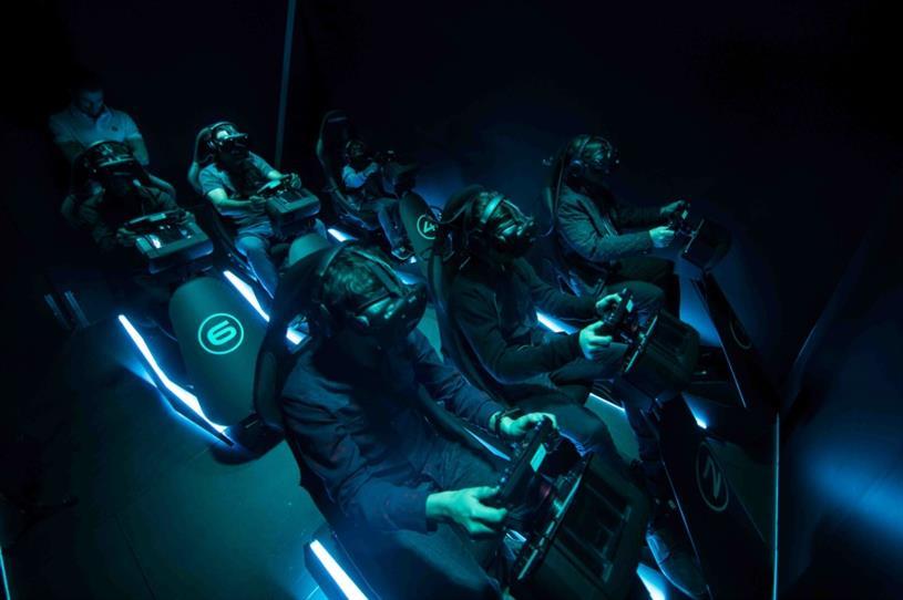 Jaguar: VR experience at Paris Motor Show