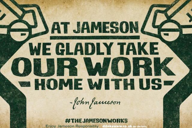 Jameson: launching new campaign around craftsmanship