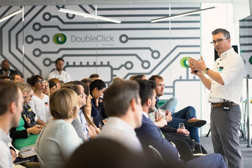 IBM's Jeremy Waite describing how Watson can help CMOs
